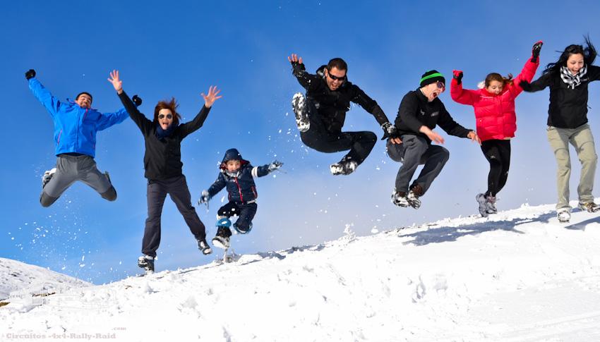 Programa conduccion en nieve fines de semana de enero y - Alojamiento en la nieve ...